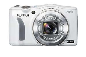 Fujifilm FinePix F770EXR Digital Camera - White (16MP EXR CMOS Sensor, 20x Optical Zoom) 3 inch LCD Screen