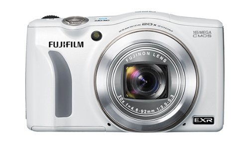 Fujifilm FinePix F770EXR Digital Camera - White (16MP EXR CMOS Sensor, 20x Optical Zoom) 3 inch LCD Screen