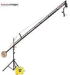 New Flyfilms 18ft Jib Crane Pan tilt head For video movie DSLR Camera camcoder Cinemtographer, Photographer, Film maker, Video movie