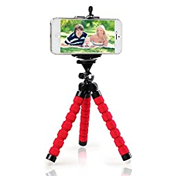 iPhone Tripod from FittSMILE Incredibly Lightweight Tripod for iPhone with Secure Flexible Mounting Legs for Taking Clear Photos and Recording Your Videos