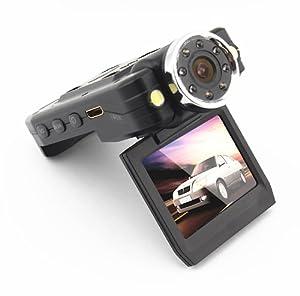 HD Car Video Camera Dual Lens LCD DVR Dash Recorder Black Box with free 8GB Micro SD from Carcam