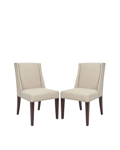 Safavieh Lauren Set of 2 Side Chairs, Taupe