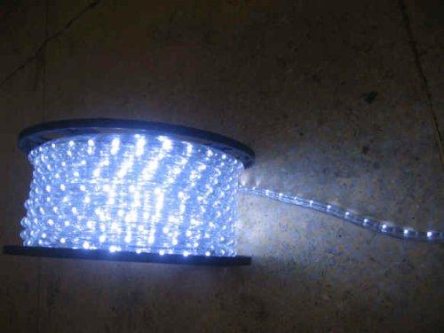 Cool White Led Rope Lights Auto Home Christmas Lighting 49 Feet