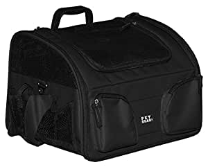 Pet Gear Bike Basket 3-in-1 Car Seat / Carrier / Bike Basket for Cats and Small Dogs, 16-inches, Black