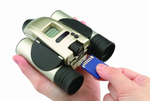 Polaroid PLD-1300 Capture Cam 1300 1.3 MB Digital Camera 8X Binoculars