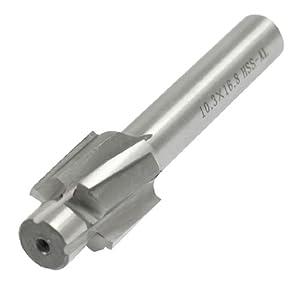 Amazon.com: 16.8mm Cutting Diameter 10.3mm Pilot HSS Counterbore End
