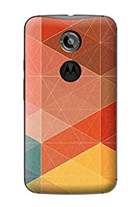Accedere Printed Back Cover Case for Motorola Moto X (2nd Gen)