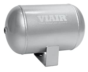 "Viair 91014 1 Gallon 4-Port Air Reservoir Tank with 1/4"" NPT"