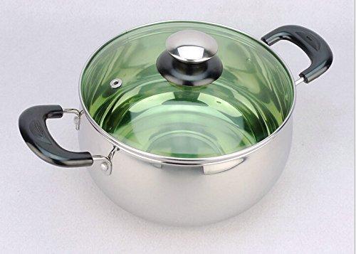 Cuisine épais Pan Pan isolé le lait poignées inox plusieurs tailles au choix vous pouvez utiliser le Mini pot-86