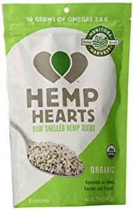 Manitoba Harvest Organic Hemp Hearts Raw Shelled Hemp Seeds, 7 Ounce