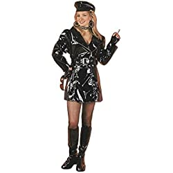 Biker Babe Costume (7pcs) for Teens/Women