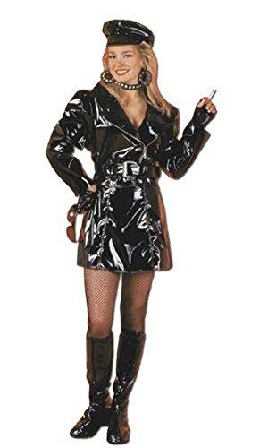 Biker Babe Costume (7pcs) for Teens/Women