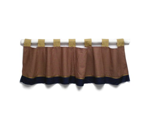 Eddie Bauer Window Valance Little Builder (Discontinued by Manufacturer)