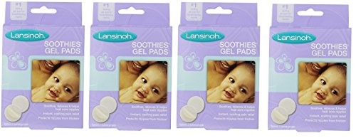 Buy Lansinoh Soothies Gel Pads, 2 Count (Pack of 4)