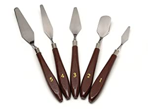 Darice 5-Piece Painting Knife Set