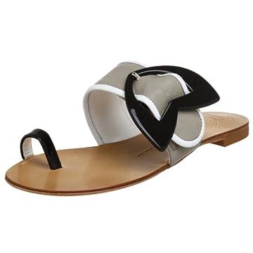 Giuseppe Zanotti Women's E90079 Toe Ring Slide