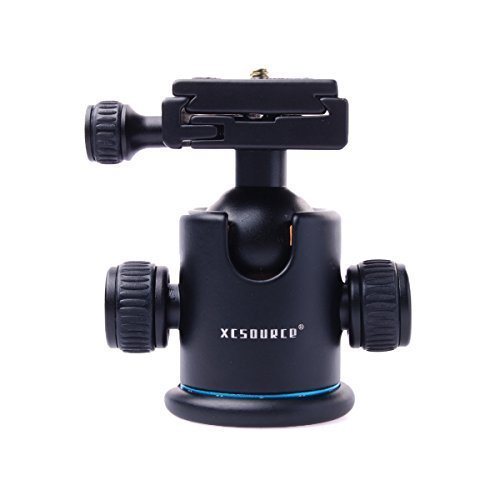 XCSOURCE-Pro-All-Metal-Camera-Tripod-Ballhead-with-Quick-Release-Plate-for-Canon-5D-mark-II-III-550d-50d-600d-1000d-1100d-650d-700d-Nikon-D7100-D7000-D5200-D5100-D3200-D3100-D3000-LF023