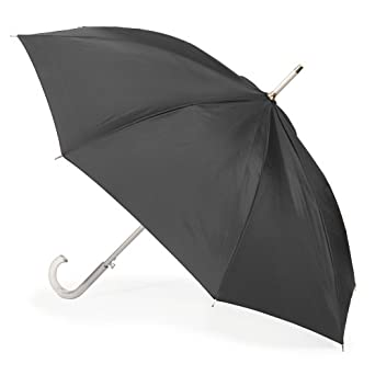 Totes  Signature Basic Auto Stick Umbrella, Black, One Size