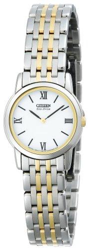 Citizen Women's Eco-Drive Stiletto Two-Tone Watch #EG3044-59A