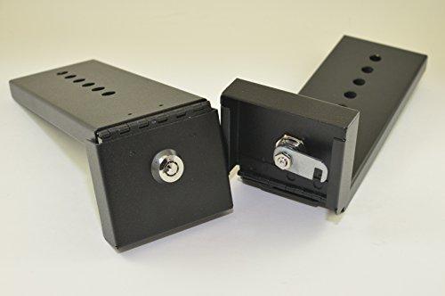 Hinged Refrigerator Lock, Black, Keyed (Refrigerator Lock Black compare prices)