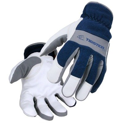 Revco T50 Men's Tigster Flame Resistant Welding Gloves Blue/White