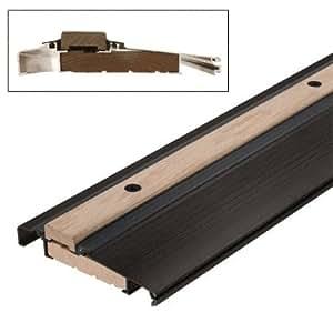Bronze 73 Outswing Adjustable Oak Top Threshold