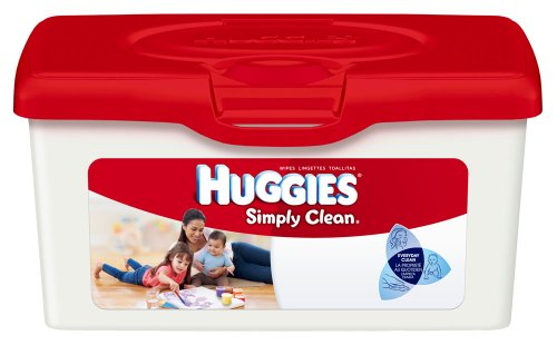 Huggies Simply Clean Unscented Baby Wipes Tub 72ct. -- - 1