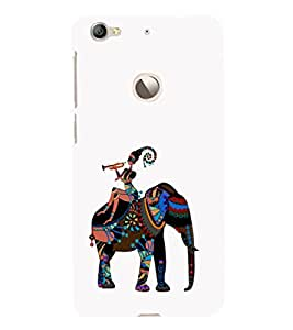 EPICCASE elephant case Mobile Back Case Cover For LeEco Le 1s Eco (Designer Case)