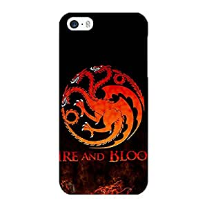 Jugaaduu Game Of Thrones GOT House Targaryen Back Cover Case For Apple iPhone 5c
