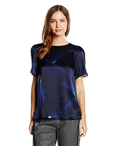 ARMANI COLLEZIONI T-Shirt Manica Corta [Blu]
