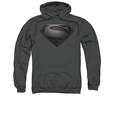 Superman: Hoodie - Man of Steel Mos Desaturated