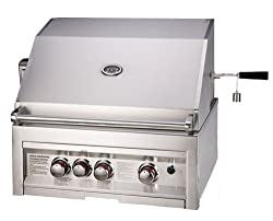 "Sunstone 3 Burner Infrared Drop-in GAS Grills 28""- 304 Stainless Steel From Top to Bottom"