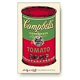 アンディ・ウォーホル キャンベルスープ缶 緑と赤 アートポスター