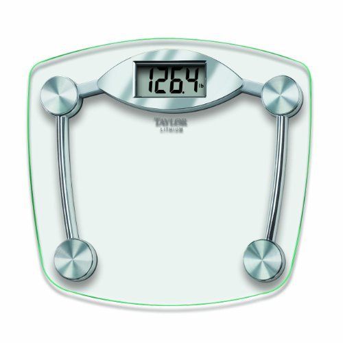 Taylor 7506 Glass and Chrome Digital Scale