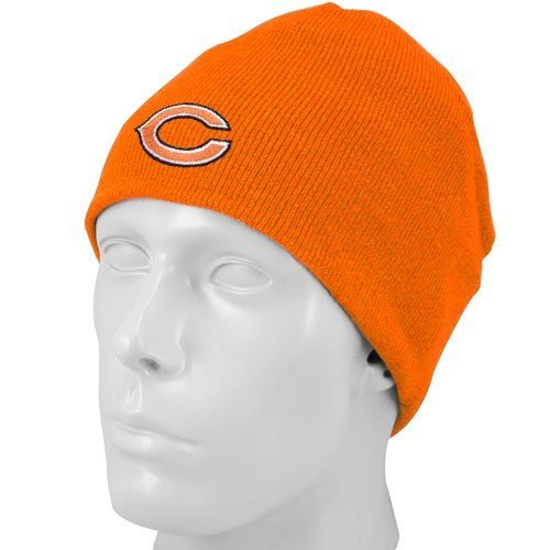 Chicago Bears Classic Knit Beanie - Orange