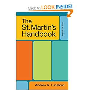 The St. Martin's Handbook download