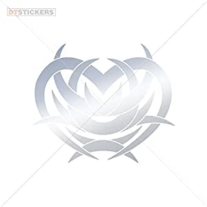 Amazon.com: Vinyl Sticker Decals Tribal Design Tatto Style Heart
