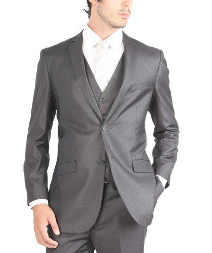 Тацио мужской костюм 2 кнопка 3 шт Slim Fit…