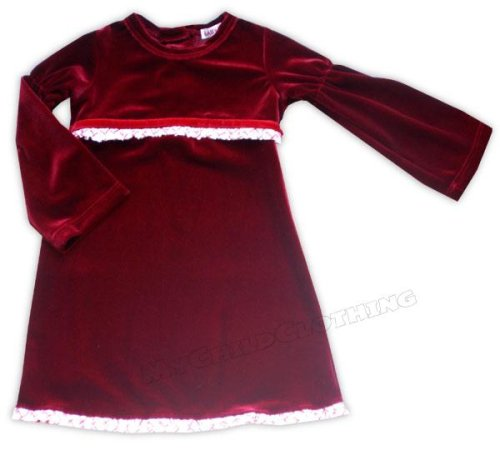 Holiday Burgundy Dress - Buy Holiday Burgundy Dress - Purchase Holiday Burgundy Dress (Baby Nay, Baby Nay Apparel, Baby Nay Toddler Girls Apparel, Apparel, Departments, Kids & Baby, Infants & Toddlers, Girls, Skirts, Dresses & Jumpers, Dresses)