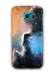 Cover Affair Galaxy Printed Back Cover Case for Samsung Galaxy S7