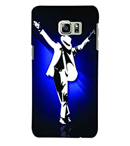 ColourCraft Michael Jackson Back Case Cover for SAMSUNG GALAXY NOTE 5 EDGE