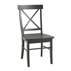 Amazon.com - Carolina Classic Essex Dining Chair, Antique Black