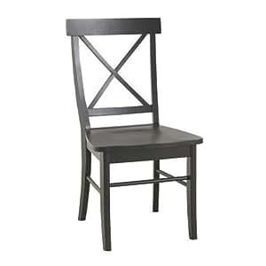 Carolina Classic Essex Dining Chair, Antique Black