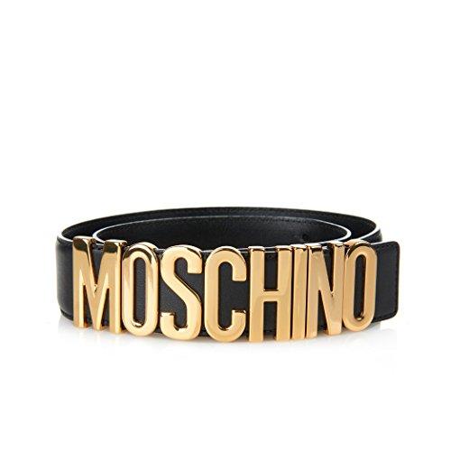 moschino-logo-adjustable-leather-belt-black-gold-size-32-38