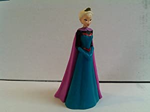 Rare Disney Frozen Elsa Figurine in Coronation Gown