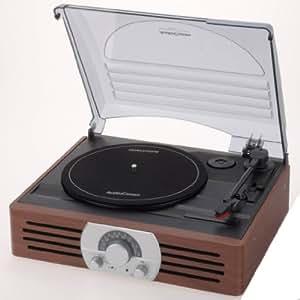 OHM Electron AudioComm ラジオ付レコードプレーヤー RRM-2775K-T