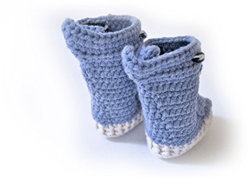 Crochet Yeezy : Los Angeles Booties Yeezy Boost 750 Crochet for Babies (XL 9-12 ...