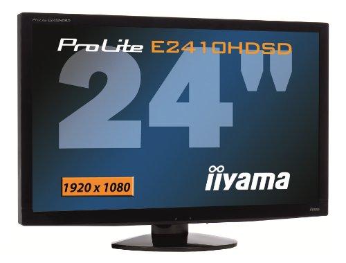 Ecran TFT wide 24'' ProLite E2410HDSD-B1 (5 ms)  5ms, DVI, HDMI, VGA, Haut-parleurs