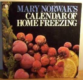 Calendar of Home Freezing