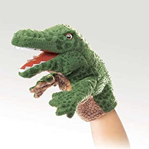 Folkmanis Little Alligator Hand Puppet by Folkmanis